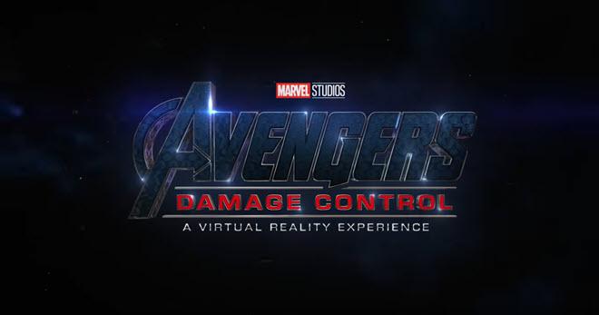 Avengers Damage Control VR logo