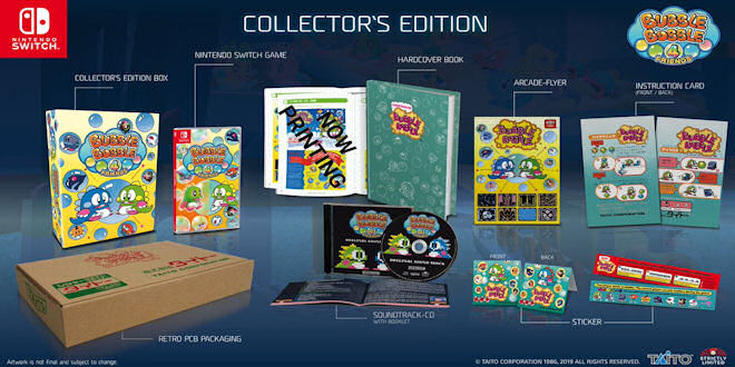 Strictly Limited Games - Bubble Bobble 4 Friends - Collector's Edition Nintendo Switch
