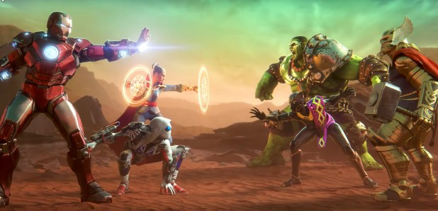 Marvel Realm of Champions Fight