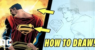 DC Comics - How to Draw Superman w/ Frank Miller & John Romita Jr