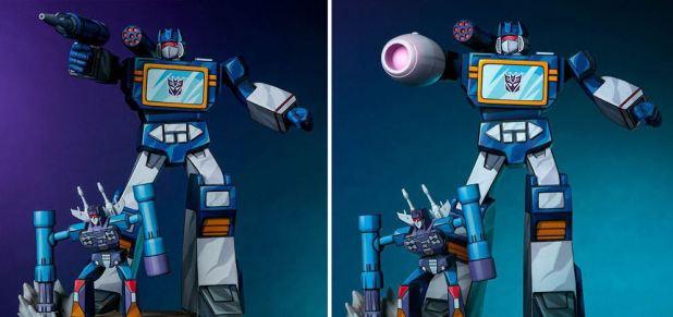 Transformers Classic Statues - Soundwave PCS Collectibles