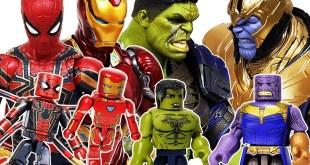 Avengers Minimates Go~! Spider-Man, Iron Man, Thor! Hulk, Captain America! Thanos