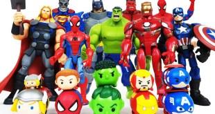 Avengers Transformation! Iron Man! Red Hulk, Spider-Man, Batman! Superman, Captain America, Thor