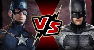 Captain America (MCU) VS Batman (DCEU) | BATTLE ARENA