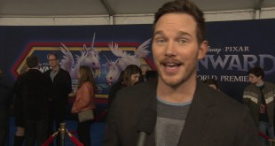 Disney Pixar Onward Animated Movie - World Premiere Celebrity Interview w/ Chris Pratt