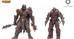 Gears of War Unveils New Action Figures at New York Toy Fair