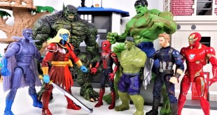 MARVEL AVENGERS ~! HULK, SPIDER MAN, IRON MAN, CAPTAIN AMERICA go~! Defeat the Thanos - Charles toy