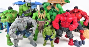 MARVEL HULK SMASH COLLECTION~! Avengers Thor Thunder and Lightning Makes Hulk Bigger! - Charles toy