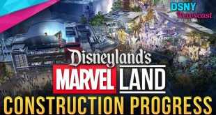 MARVEL Land Construction Progress at Disneyland Resort - Disney News - 11/27/19