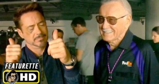 The MCU Stan Lee Cameos [HD] Marvel's Tribute & Behind the Scenes