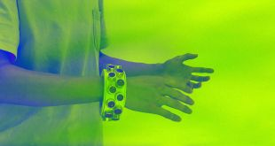 This Cyberpunk Bracelet Jams Any Spying Microphones Nearby