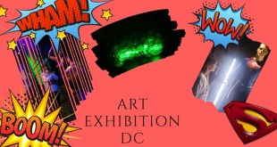 "Wystawa ""Sztuka DC. Świt superbohaterów"". Art exhibition DC comics."