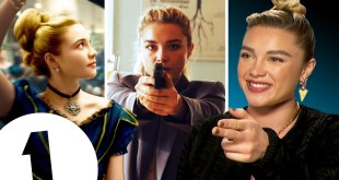 """Pew Pew Pew!"" Florence Pugh on Little Women, Black Widow and her amazing year."