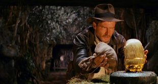 """10"""" Gold Indiana Jones with Idol On Sale Today!"""