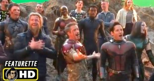 AVENGERS: INFINITY WAR & ENDGAME Secret Behind the Scenes Set Videos [HD] Marvel