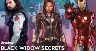 Black Widow Secret Facts | SuperSuper | Prelude