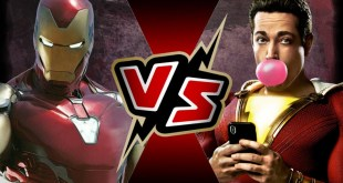 Iron Man (MCU) VS Shazam (DCEU) | BATTLE ARENA