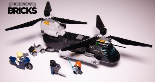 Lego Marvel Black Widow 76162 Black Widow's Helicopter Chase Speed Build