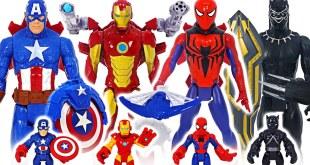 Marvel Avengers Titan Hero Blast Gear Spider-Man, Iron Man! Go! | DuDuPopTOY