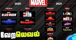 Marvel Phase 4 Confirmed 2021 Releases (தமிழ்)
