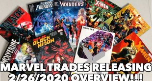 New Marvel Trades Releasing (2/26/2020) Overview!