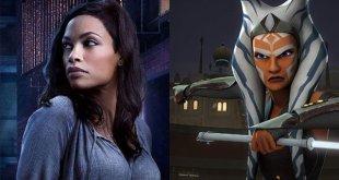 Rosario Dawson Will Play Ahsoka Tano In The Mandalorian Season 2