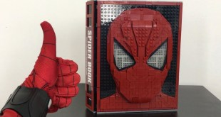 Spiderman SPIDERBOOK LEGO Full Assemble Showcase