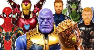 Thanos vs Avengers! Hulk, Iron Man, Thor, Captain America, Spider-Man, Incredibles 2, Carbot Kung
