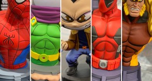 Toy Fair: Marvel Animated Busts & Statues: X-Men & Spider-Man! (Diamond Select)