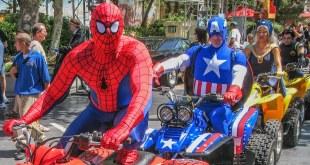 Universal Studio Hollywood Part 1 - Walk Around, Marvel Superhero