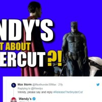 WOW! Wendy's Drops A SnyderCut Bomb On Twitter & BVS Talk | Release The Snyder Cut DCEU News