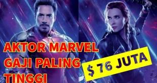 6 Aktor Marvel Cinematic Universe dengan Bayaran Tertinggi
