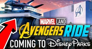 AVENGERS QUINJET RIDE Coming to Marvel Lands! | D23 Expo 2019 - Disney News