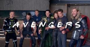 AVENGERS x F. R. I. E. N. D. S - Celebrating 1 year of Avengers Endgame