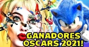 GANADORES OSCARS 2021! BIRDS OF PREY MEJOR PELICULA , SONIC MEJOR ACTOR Y BLOODSHOT MEJORES EFECTOS