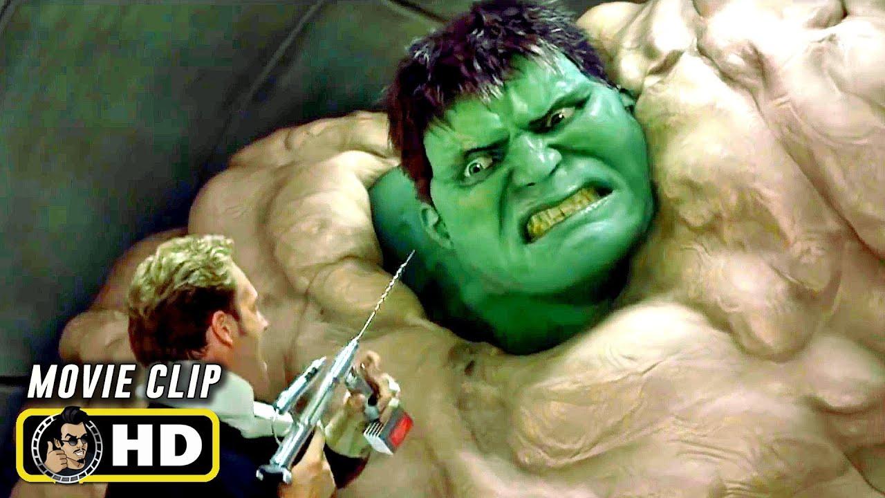 HULK (2003) Hulk Escapes Military Base [HD] Marvel - EpicHeroes ...