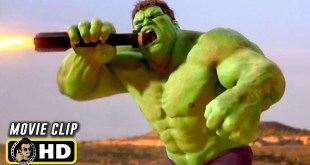 HULK (2003) Hulk Vs. Helicopters Scene [HD] Marvel