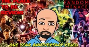 Happy One Year Anniversary to the channel! #Marvel #StarWars #Seinfeld #MCU #DCEU #TheFandomMenace
