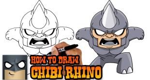 How to Draw Rhino | Marvel Comics