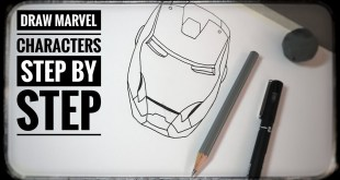 How to Draw for Beginners|Draw marvel Characters Step by Step