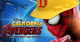 MARVEL LAND CONSTRUCTION UPDATE - Disney California Avengers
