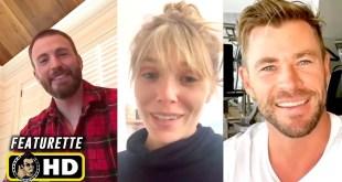 Marvel Actors in Quarantine #2 [HD] Chris Evans, Elizabeth Olsen, Chris Hemsworth