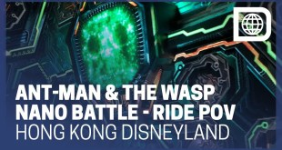 Marvel Ant-Man and the Wasp - Nano Battle Attraction Ride POV - Hong Kong Disneyland