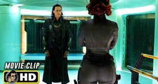 THE AVENGERS (2012) Clip - Black Widow Tricks Loki [HD] Marvel