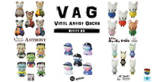 The Toy Chronicle | VAG VINYL ARTIST GACHA SERIES 23 By Medicom Toy