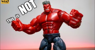 This is NOT the Marvel Legends BAF Red Hulk