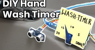 Wash-A-Lot-Bot: Make your own hand wash timer with Arduino