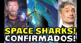 X-MEN USADOS! TAIKA WAITITI CONFIRMA EN THOR LOVE AND THUNDER A LOS SPACE SHARKS! LOS ACANTI BROOD