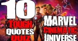 10 Tough Marvel Cinematic Universe Quotes Quiz