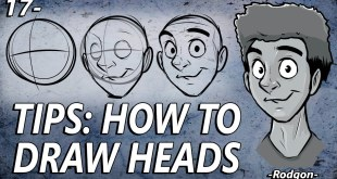 17- Tips - How to draw heads